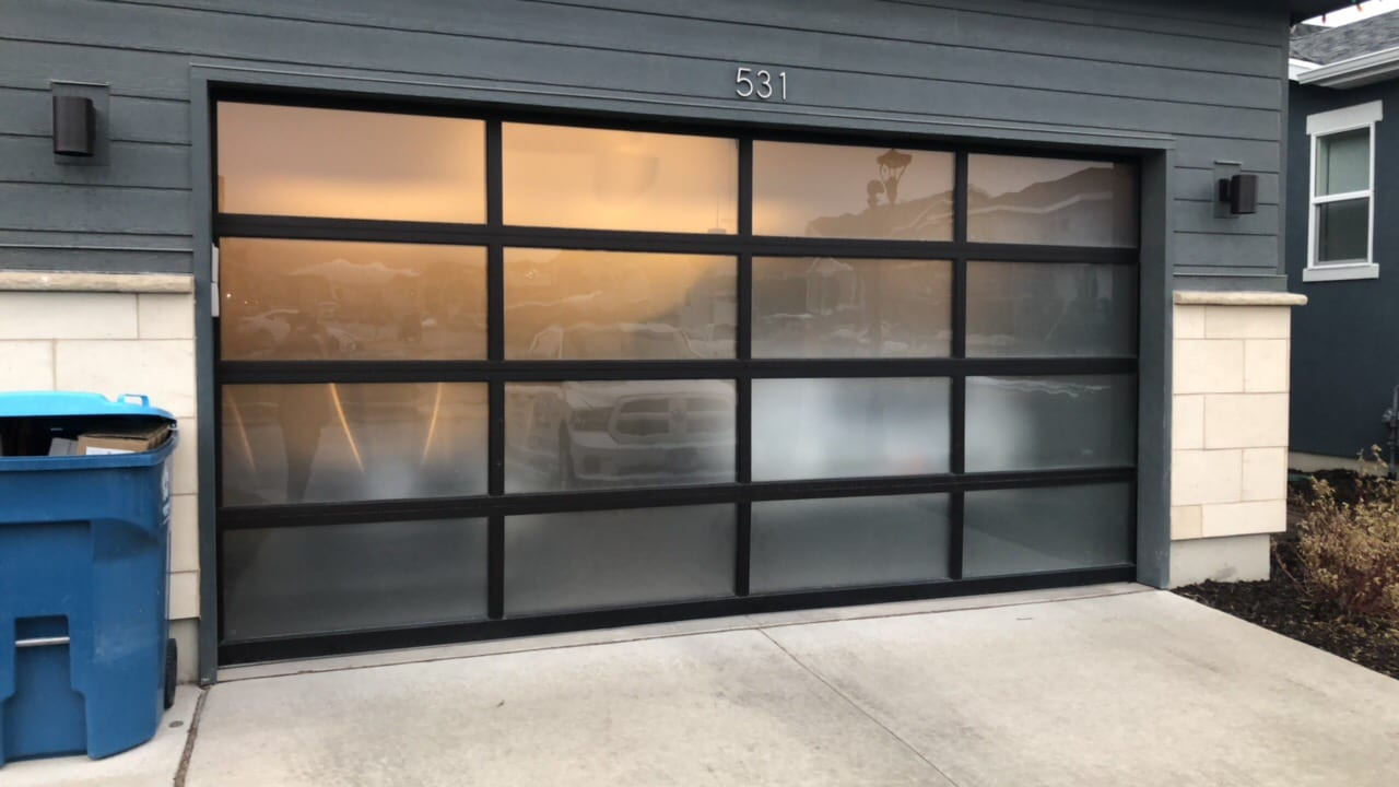 New Garage Door Panel