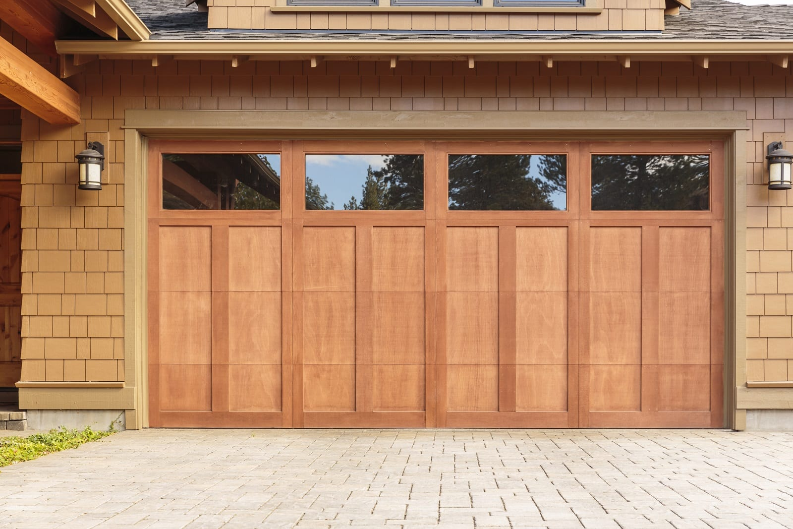 New Garage Door Panels